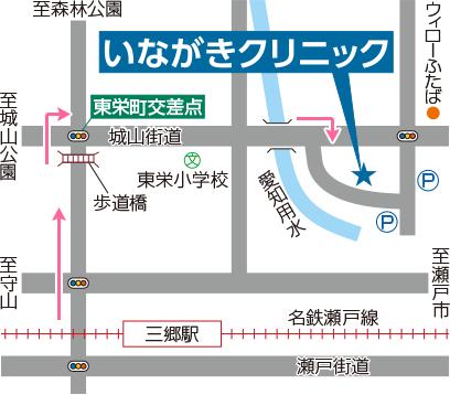 徒歩用地図